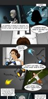Portal comic (humanized): Retribution (Page 1) by Comedic44