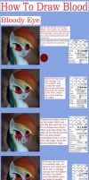 Bloody Eye Tutorial by InfinitelyImpossible