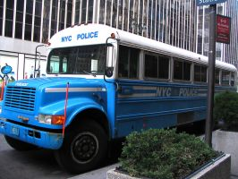 NYPD Bus by Karlika