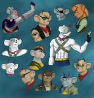 Biker mice from Mars by Rosyan