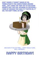 Happy Birthday from Toph by AgiVega