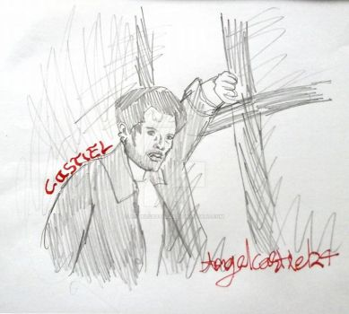 Misha Collins by AngelCastiel24