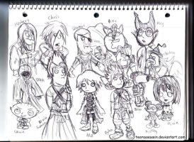 KH BBS and FamGuy LOL by tearassassin