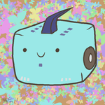 Blurr Cube by Humblebot