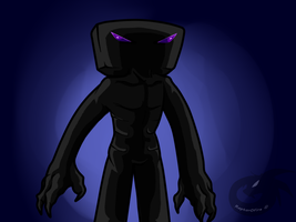 The Enderman by RaptorOFire