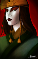 Avatar Kyoshi by Rusembell