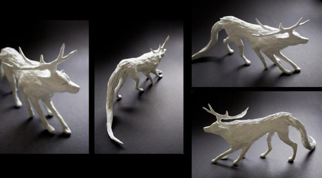 Wolflike by luccain