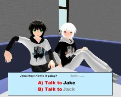Jake and Jack Dating Sims by Artsy-Samathy