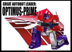 OPTIMUS-PRIME WALLPAPER by mannlich-violet