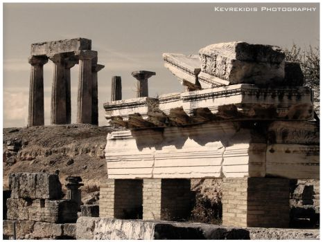 Ancient Corinth by Kevrekidis
