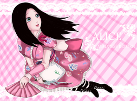 Alice Madness Return_Oriental Grove pink ver. by syahilla