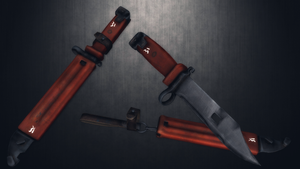 [MMD] AKM Type II Bayonet for DL by AbyssLeo
