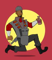 Badge: Demoman, TF2 by kkyz13