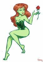 Poison Ivy sketch by ClemCyza