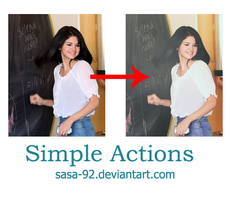 Simple Actions by sasa-92