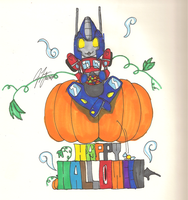 Happy Halloween 2009 by TaintedTamer