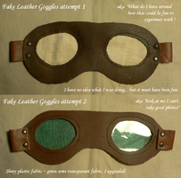 Fake Leather Goggles by topios