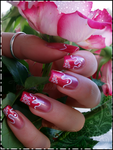 french mani waves by Tartofraises