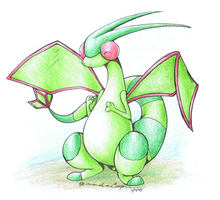 Flygon by IceCatDemon