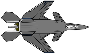 F38S Scythe Stealth Fighter by Marksman104