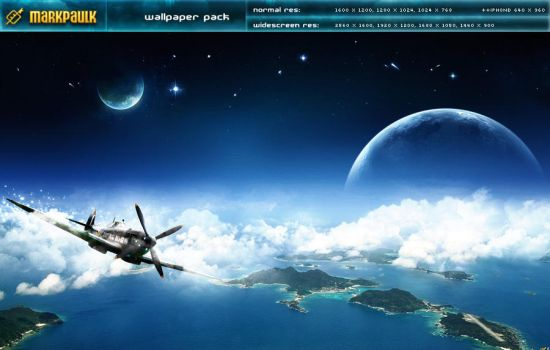 flying high - wallpaper pack by mpk2