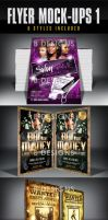 Flyer Mock Ups 1 by AnotherBcreation