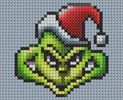 How the Grinch Stole XStitch by drsparc