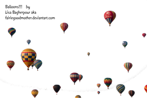 Precute Hot Air Balloons 11 by FairieGoodMother