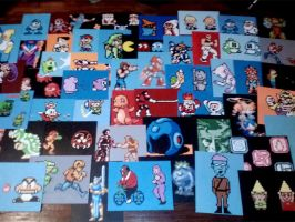 Paintings for Too Many Games 2013 by Squarepainter