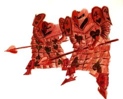 AIW Heart Card-Soldiers by killb94