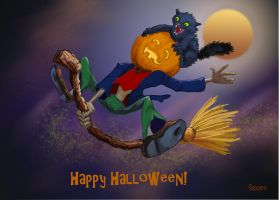 happy halloween by Hagge