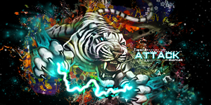 Tiger Attack by Maniakuk