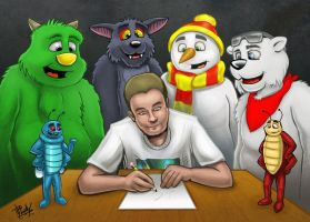 Mark and Friends by Droakir