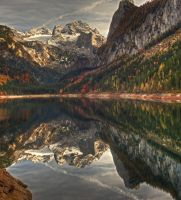 The Gosausee by Toghar