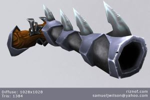Torchlight Weapon by Riznof