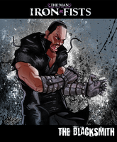 The Man with the Iron Fists by mase0ne