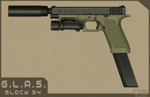 Special Task Glock 34 by cityofthesouth