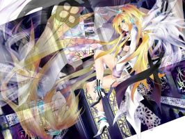 Vocaloid Lily 6 by Shadowthegod