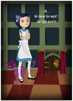Coraline in Wonderland by CoralineFC