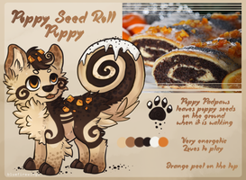 Poppy Seed Roll Auction CLOSED by Bluefirewings
