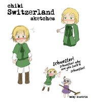 Chibi Switzerland Random Sketches by Arkham-Insanity