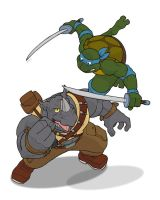 Turtles Fight With Honour! by Kingoji
