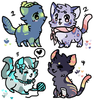 Kitty adopts by Fenny-Fang