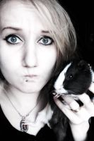 with guinea pig by solliciter