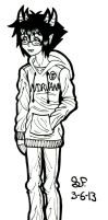 -+ Sollux: Wear the Nirvana sweatshirt. +- by Zalehard13