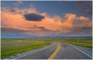 Elk Mountain Exit 3 by wyorev