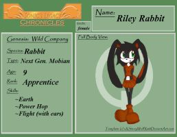 Riley Rabbit profile :request: by ShadeOokami