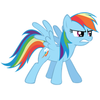 Rainbow Dash - Serious by Ocarina0fTimelord