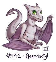 142 - Aerodactyl by Electrical-Socket