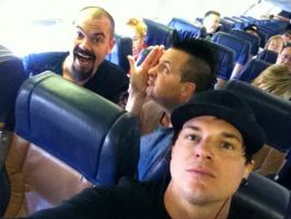 2011 plane rides w/ Zak, Aaron, and Billy by MJandGhostAdventures